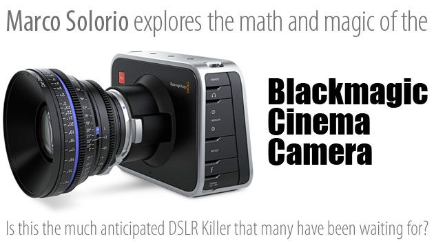 Marco Solorio of OneRiver Media dissects Blackmagic Design's new Cinema Camera to see if it is in fact, the much-anticipated HDSLR-killer everyone's been waiting for over the years. But with a comparatively smaller sensor size and radical body design, does it fit the bill as the killer we all want?