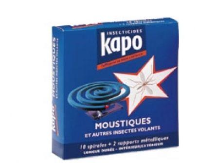 Spirales anti-moustiques Kapo