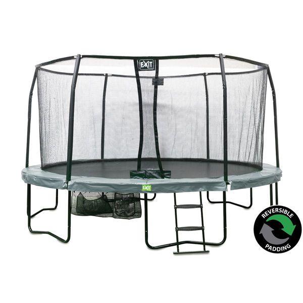 Jättitrampoliini turvaverkolla - Täydellinen trampoliinipaketti lapsille