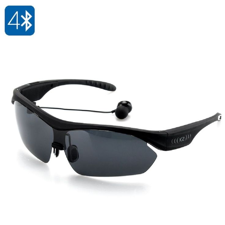 K2 Smart Sunglasses Bluetooth,Headset,Handsfree A2DP,Dual Hadphone,Voice Command