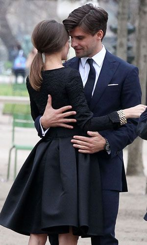 Olivia Palermo and Johannes Huebl// love this