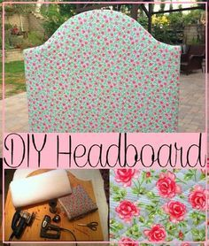 Lauren: How to make your own DIY headboard! Perfect for a college dorm room!