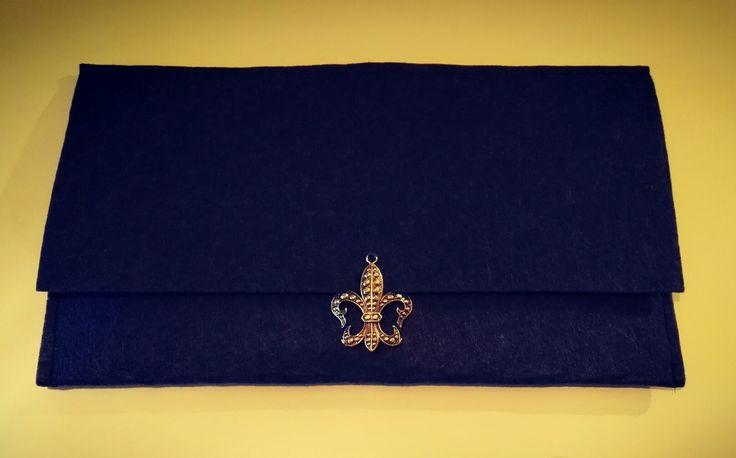 #handbag #felt #AT #myhandmade #blue #orris #details fb.me/atmyhandmade atmyhandmade@gmail.com