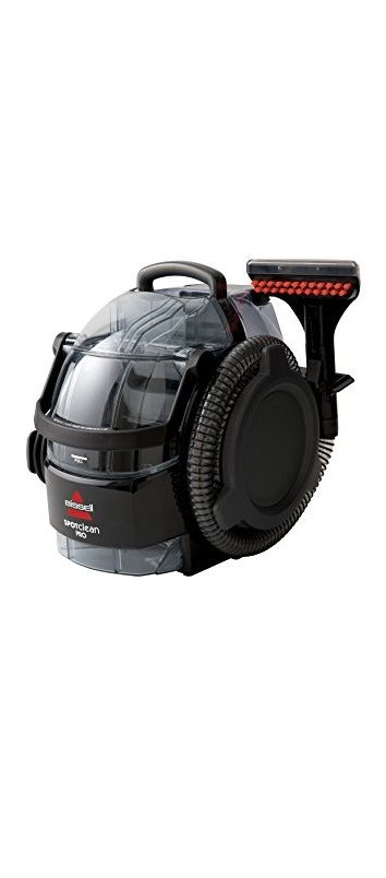 Bissell 3624 SpotClean Professional Portable Carpet Cleaner - Corded Best portable carpet cleaner from Bissell 2017 full reviews:http://thebestcarpetcleaningmachines.com/bissell-carpet-cleaner-reviews/