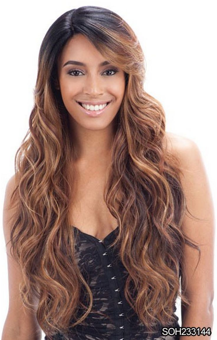 Free Tress Equal Lace Front Invisible Part - Suzie - Hand-Tied Lace Deep Invisible L Part - The Ingenious wide angle invisible lace patch; Now you can part your hair wherever you want - Invisible Part