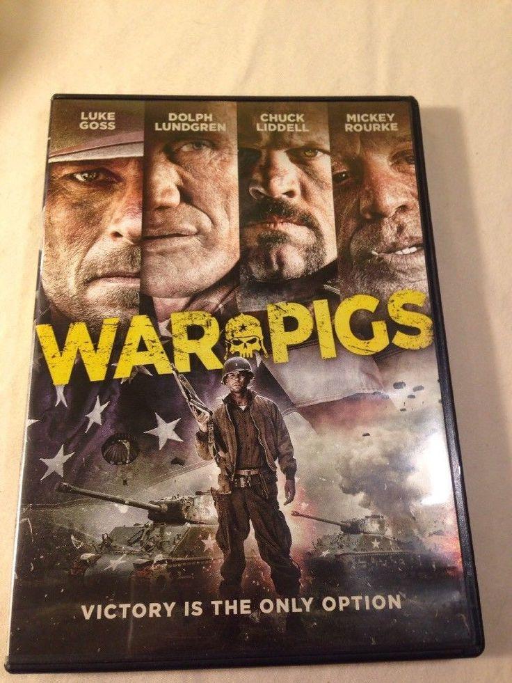 War Pigs (DVD, 2015) Dolph Lundgren Luke Ross Chuck Liddell Mickey Rourke
