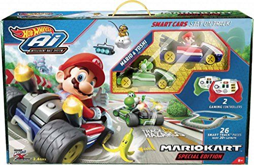 #Hot #Wheels #Ai #Mario #Kart #Special #Edition #Starter #Set w #Mario & #Yoshi #Smart #cars  #Hot #wheels #Ai Intelligent Race Track with #Mario & #Yoshi #Smart #cars plus controller Great Gift #Set Please see photos for more details  https://technology.boutiquecloset.com/product/hot-wheels-ai-mario-kart-special-edition-starter-set-w-mario-yoshi-smart-cars/