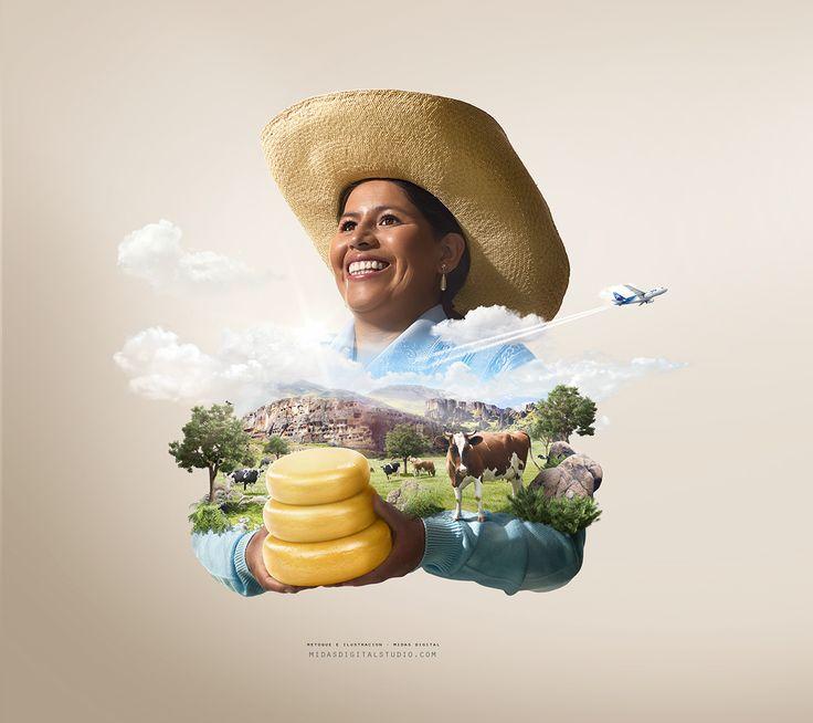 LAN Perú 2013 on Behance