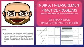 Lesson 10 homework practice indirect measurement examples