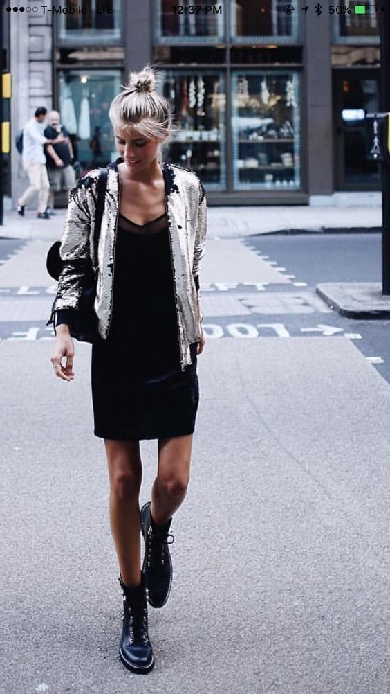b26bc156b5 How To Wear Combat Boots AND Look Chic   Feminine  – The Fashion Tag Blog