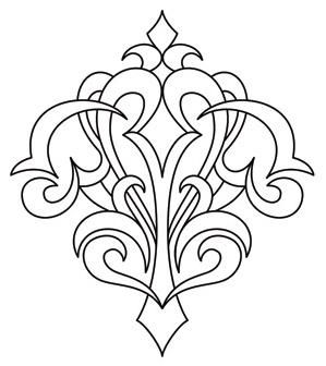 Gothic Corner Flourish_image