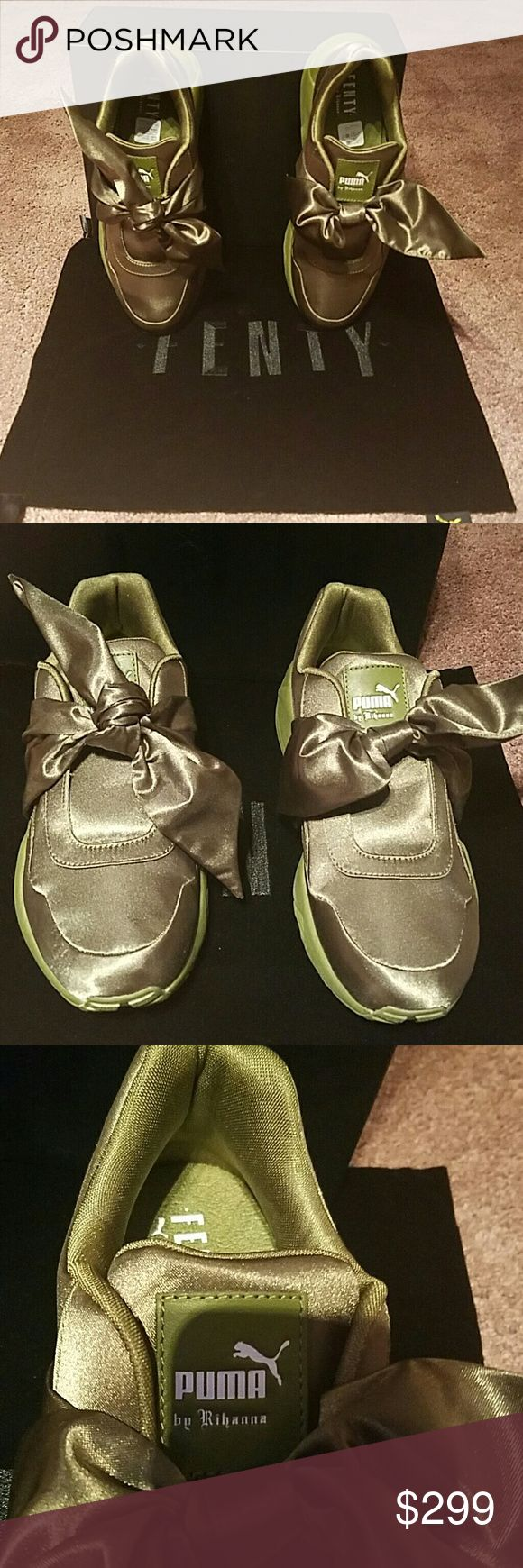 Fenty Puma Bow Sneakers by Rihanna Fenty Puma Bow Sneakers by Rihanna new with box and dust bag. Purchased from Bloomingdale's. Puma Shoes Sneakers