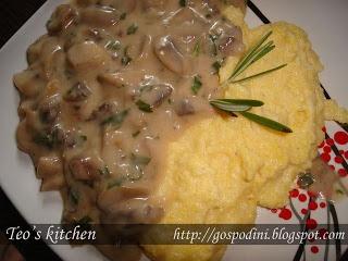 Tocăniţă de ciuperci- mushroom stew