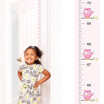 MEASURING HEIGHT!  Measure how tall each person is each year on a doorframe or wall.