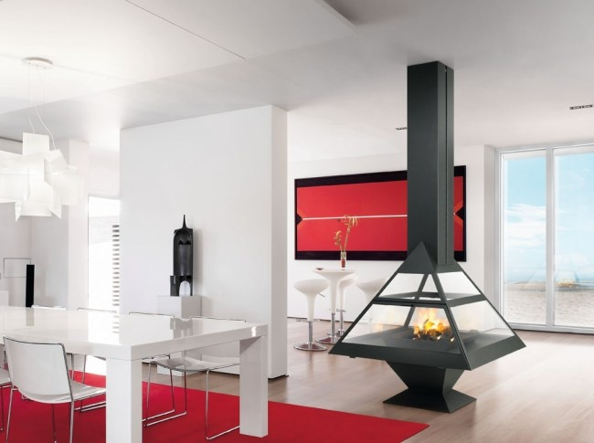 1000  images about diseño interior   chimeneas on pinterest ...