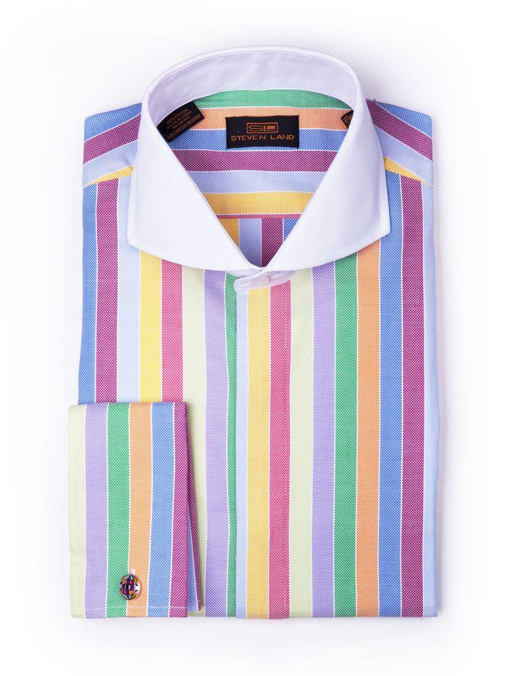 Steven Land Dress Shirts : DS1091   Multi