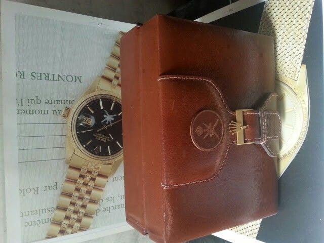 Rolex oman box
