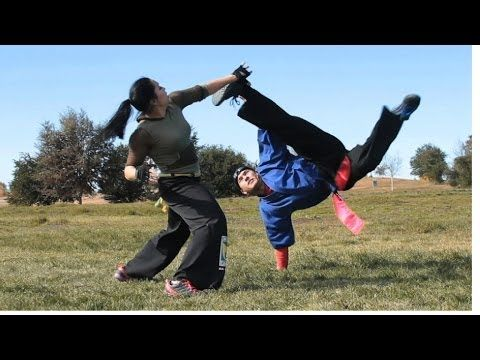 Capoeira Girl, Capoeira Fight - YouTube