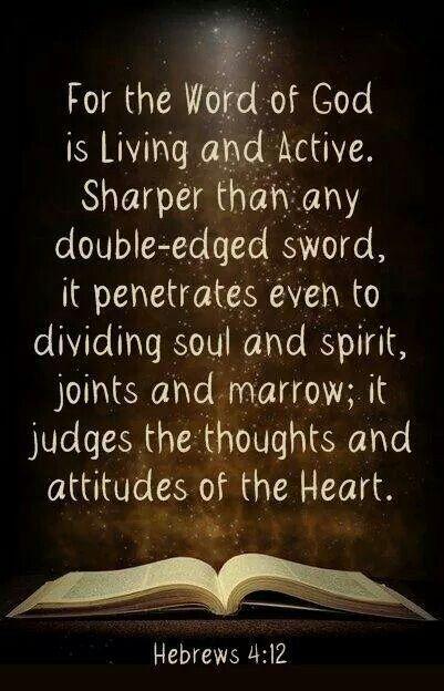 vibrANT  Hebrews 4:12                                                                                                                                                      More