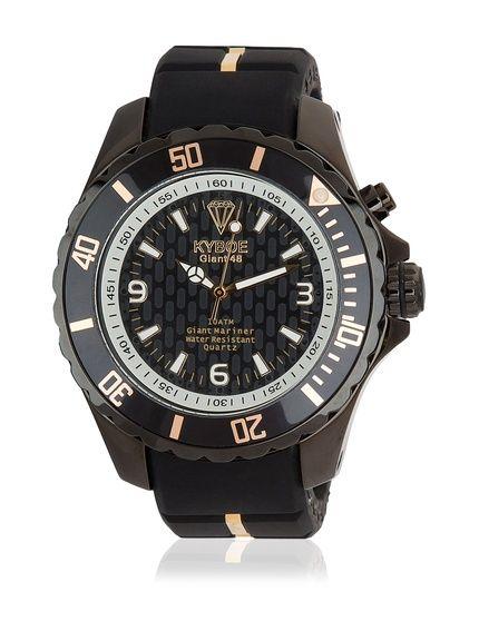 KYBOE! Reloj automático Unisex Negro 40 mm en Amazon BuyVIP