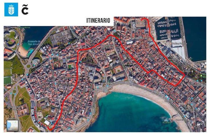 Xa está todo listo para a #Cabalgata dos #ReisMagos na #Coruña! Aquí tes toda a información que precisas!