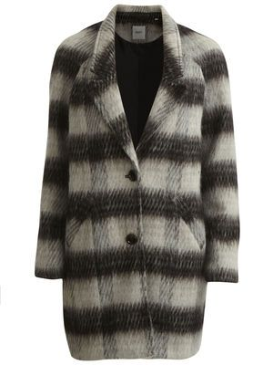 Checked loose-fitted coat. Buy it here ►http://bit.ly/ZdDxDz #objectfashion