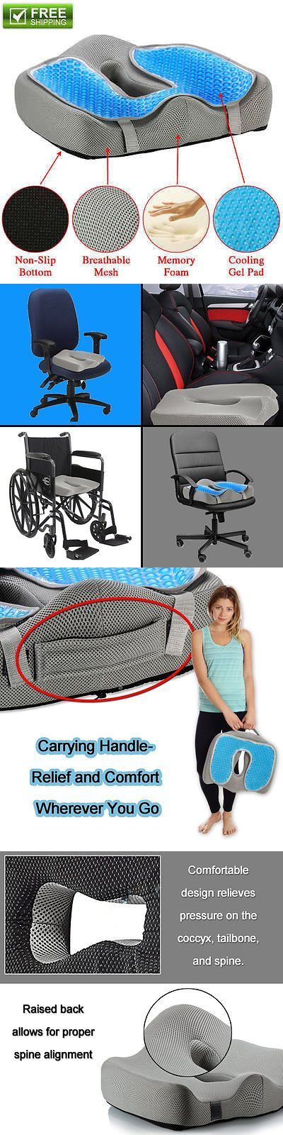 other orthopedic products chair seat cushion cooling gel pillow for sciatica prostate hemorrhoid tailbone