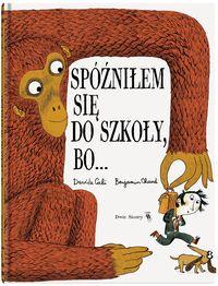 """Lektura obowiązkowa dla wszystkich spóźnialskich. Kontynuacja książki """"Nie odrobiłem lekcji, bo…"""".  Atak wojowników ninja, spotkanie z wielką żarłoczną małpą, porwanie przez kretoludzi… Gdy trzeba wytłumaczyć spóźnienie, wszystko jest możliwe!    Autorzy Nie odrobiłem lekcji, bo… znów bawią czytelników, składając hołd nieokiełznanej uczniowskiej wyobraźni...."""