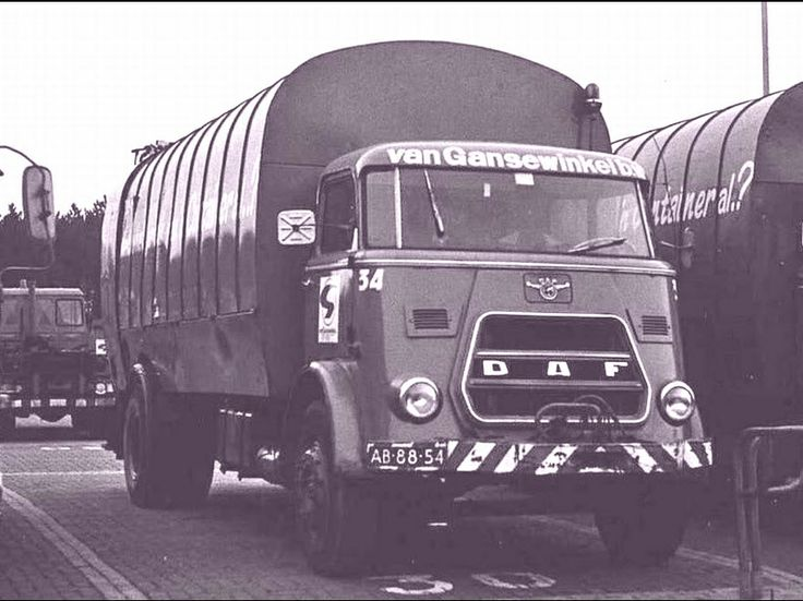 DAF 1500 refuse/garbage truck of van GANSEWINKEL