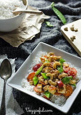 Veggieful: Sweet and Sour Tofu Recipe. Right after cooking a bit plain.
