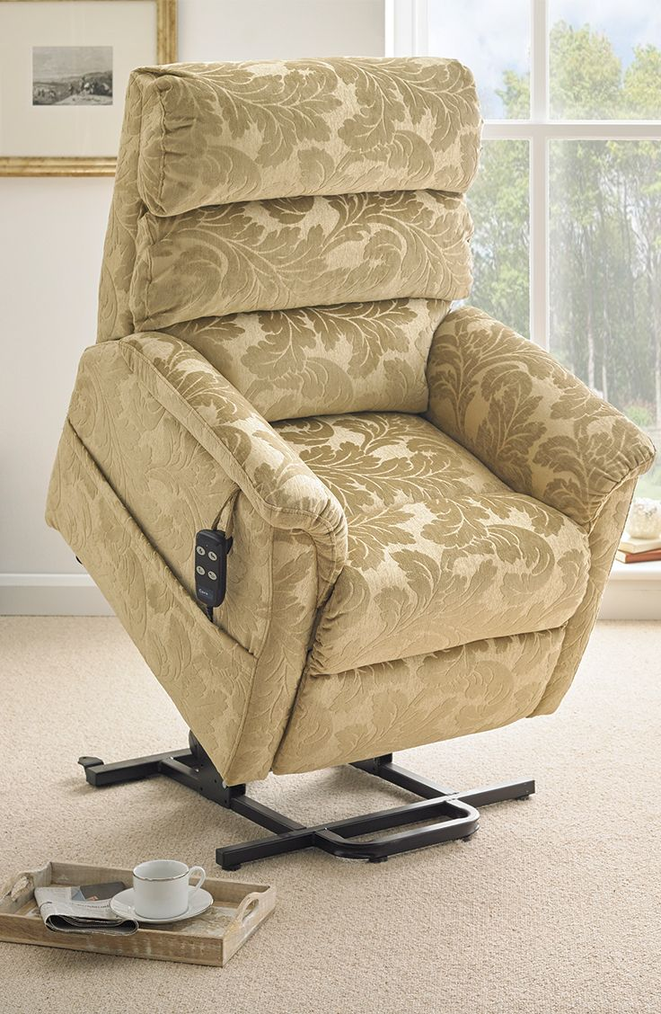 The stylish Madison Riser Recliner has a dual motor function and a rise feature.