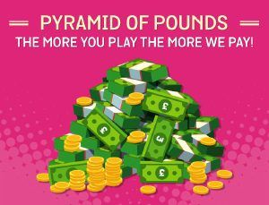 SPIN AND WIN CASINO - PYRAMID OF POUNDS - UK Casino List