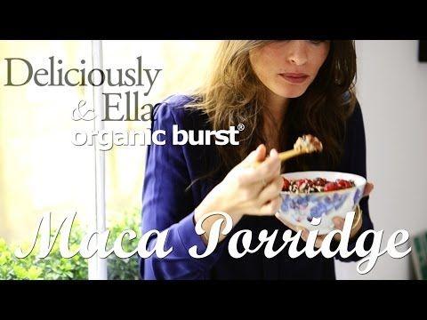 Organic Burst Maca Porridge with Deliciously Ella