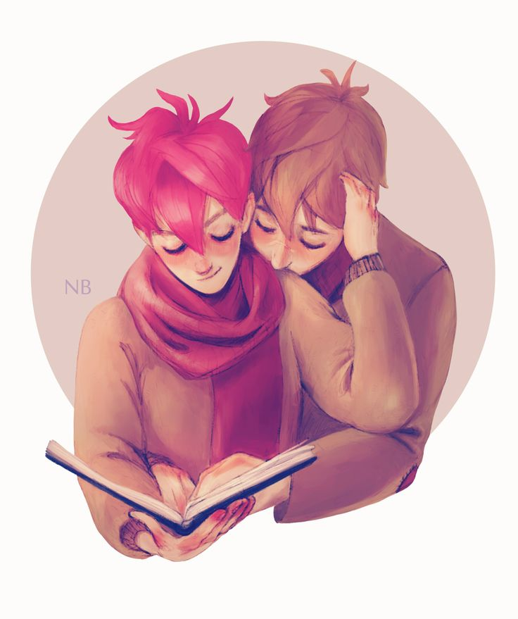 Lectura compartida (ilustración de Natello)