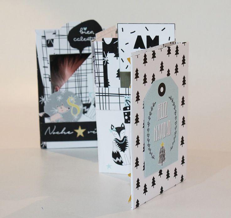 Vídeo-tutorial Mini álbum acordeón. ¡El regalo perfecto para cualquier ocasión! - regalos de navidad rápidos y fáciles