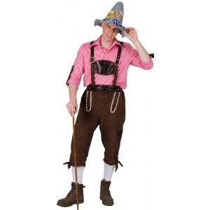 Deguisement Tyrolien Pantalon (salopette) deluxe Homme - Costume Bavarois Autrichien Tyrolien Adulte, fête de la bière, Oktoberfest, Allemagne, Alpes, Autriche, Baviere, carnaval, fêtes.  http://www.baiskadreams.com/1995-deguisement-tyrolien-pantalon-homme.html