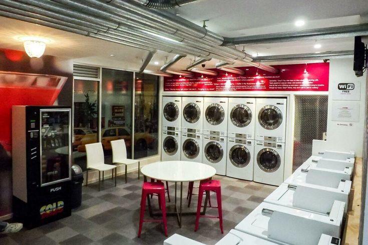 10 Laundromats For Memorable Washing Experiences Self Service Laundry Laundry Shop Laundromat