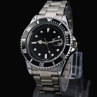 2015 Новый человек Военные часы из нержавеющей стали наручные часы роскоши Повседневный стали кварцевые часы часы мужской бренд часы Бесплатная доставка