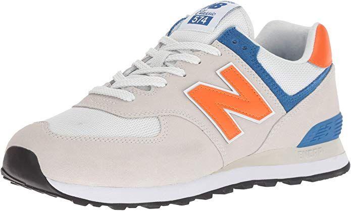 New Balance 574v2 Sneakers Herren Weiss Orange Nimbus Cloud Bengal Tiger Sneaker New Balance Herren New Balance