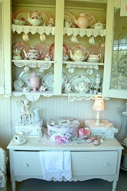 151 best images about shabby chic dishy displays on pinterest china display shabby chic and. Black Bedroom Furniture Sets. Home Design Ideas