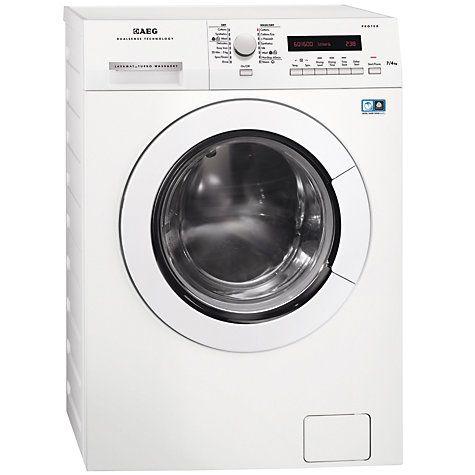 Buy AEG L75670NWD Freestanding Washer Dryer, 7kg Wash/4kg Dry Load, A Energy…