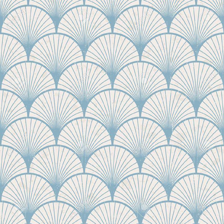 Seamless Retro Japanese Pattern Texture Royalty Free
