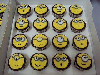 cup cake minion - Buscar con Google