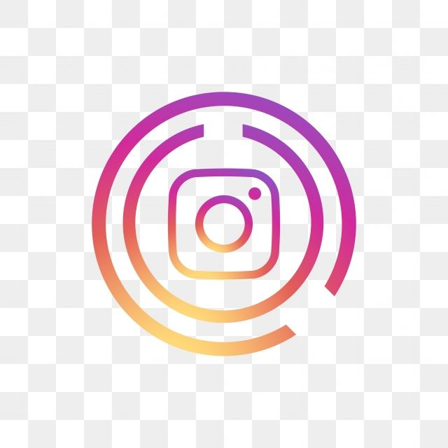 Instagram Social Media Icon Design Template Vector Instagram Logo