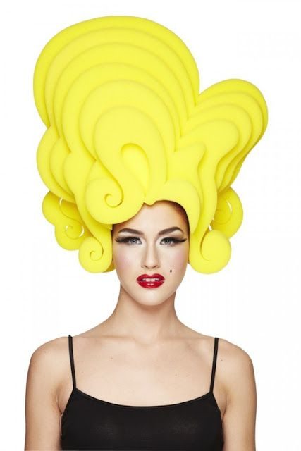 Chris March's line of foam wigs hitting Target this Halloween. Big Fun Starlet