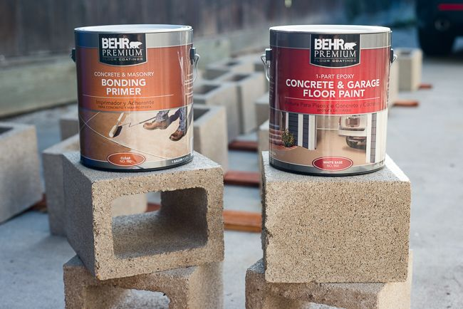 How to prime and paint cinderblocks