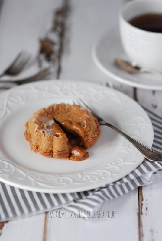 Dulce de Leche lava cakes - recipe in Polish, translator in sidebar