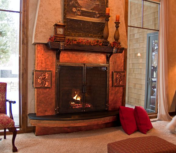 Sarah Check Hearth Cabinet: 17 Best Images About Copper Fireplace Surrounds On