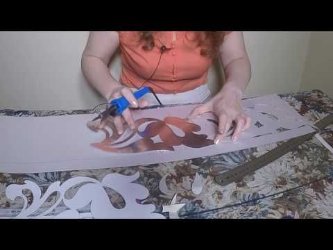 Мастер класс ажурный шнур - YouTube