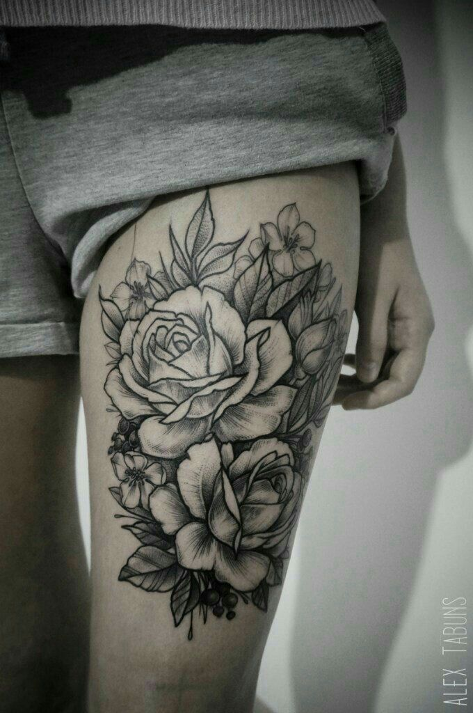 Placement - upper thigh